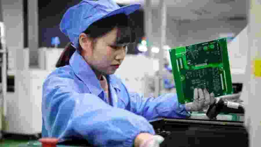 Entre as grandes economias, a China é a única que terá crescimento econômico em 2020 - Getty Images