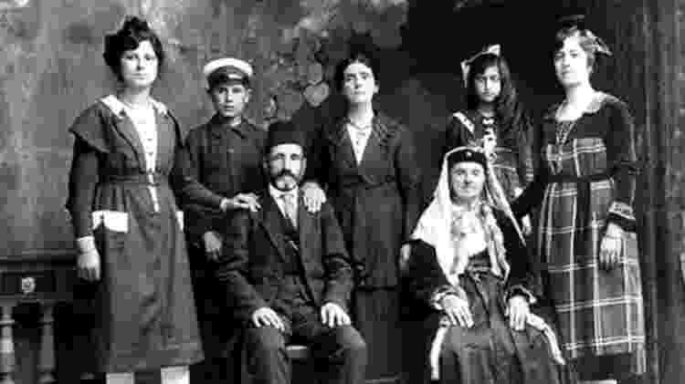 Famílias de judeus sefaraditas de Tessalônica. Ilha de Rodes, 1924 - Vozes do Holocausto/Arqshoah - Vozes do Holocausto/Arqshoah