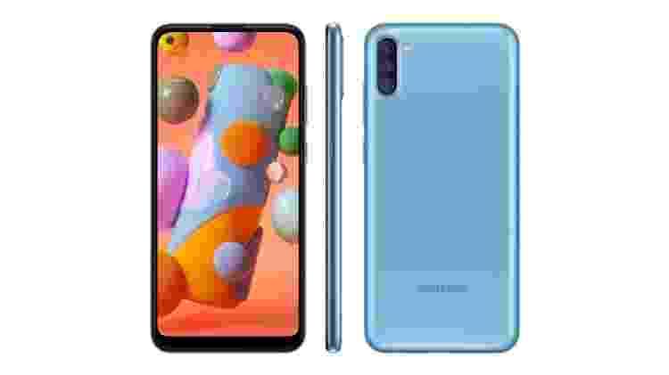 Galaxy A11 - Reprodução - Reprodução