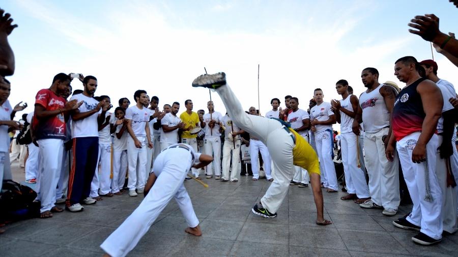 No Recife, o Dia da Consciência Negra é comemorado com a realização da Marcha da Capoeira Zumbi dos Palmares - Ademar Filho/Futura Press/Estadão Conteúdo
