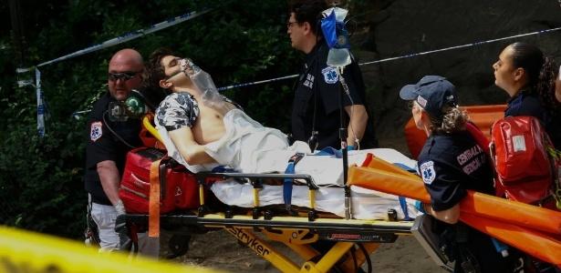 Rapaz ficou ferido e pode ter de amputar a perna após uma explosão no Central Park, em Nova York, neste domingo