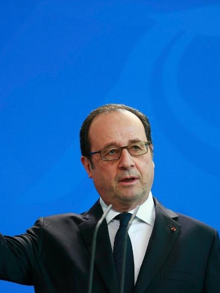 O ex-presidente da França François Hollande (foto) é um dos signatários da carta - Axel Schmidt/Reuters