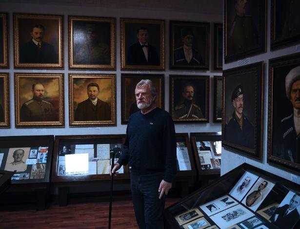 """Vladimir Melikhov construiu museu para """"fazer os russos pensarem sobre a própria história"""""""