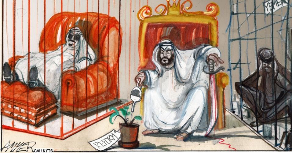 Novembro: Arábia Saudita Limpa A Casa