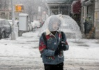 Onda de frio nos EUA - Sarah Blesener/The New York Times