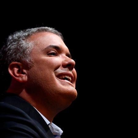 Ivan Duque, presidente da Colômbia  - Jaime Saldarriaga/Reuters
