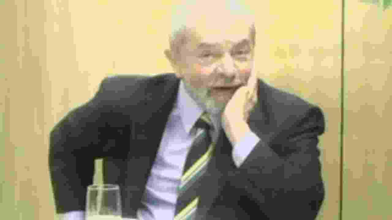 O ex-presidente Luiz Inácio Lula da Silva presta depoimento para o juiz Marcelo Bretas,  - Reprodução