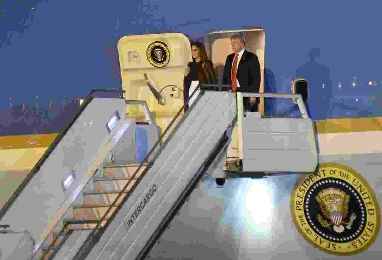 Donald Trump chega a Argentina - Divulgação