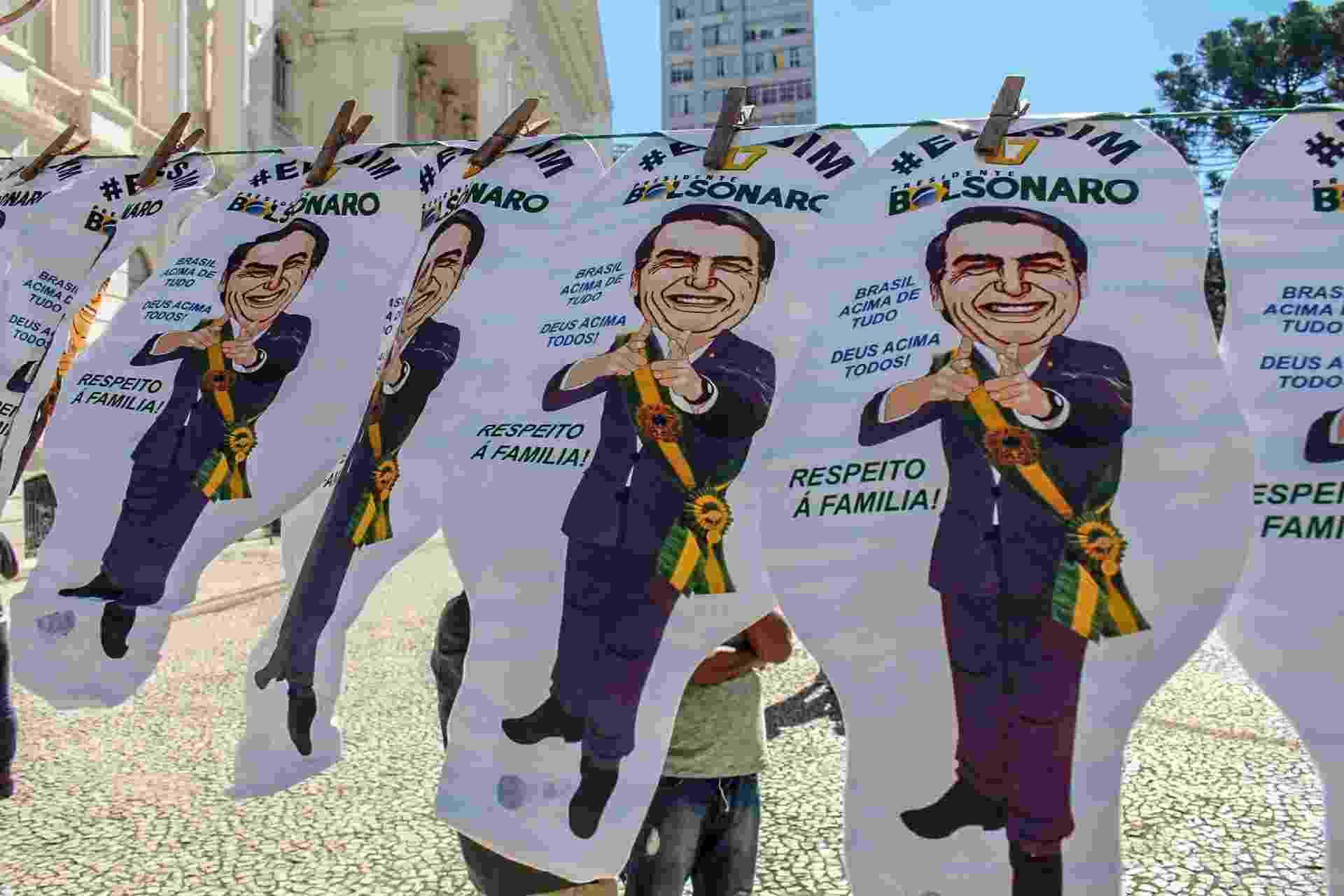 Protestos a favor do governo no Paraná - Eduardo Matysiak/Futura Press/Estadão Conteúdo
