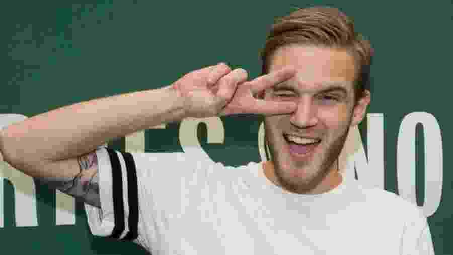 PewDiePie chegou a ser o youtuber mais bem pago da plataforma   - Getty Images