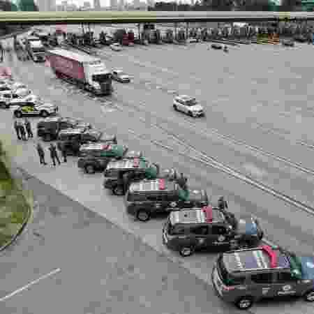 Após fuga em presídio no Paraguai, PM-SP reforçou operação nas rodovias do estado - Divulgação/ Polícia Militar de São Paulo