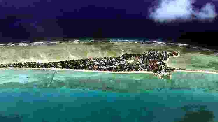 Tarawa, a capital, viu sua população aumentar de 1.600 habitantes em 1947 para mais de 50.000 hoje - Getty Images/BBC