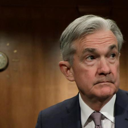 Jerome Powell, chairman do Federal Reserve, deixou dúvidas no ar - YURI GRIPAS