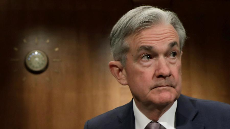 Jerome Powell, presidente do Federal Reserve - YURI GRIPAS