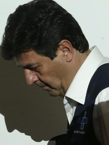 O ministro da Saúde, Luiz Henrique Mandetta, em dia de entrevista coletiva sobre a evolução do novo coronavírus no Brasil - DIDA SAMPAIO/ESTADÃO CONTEÚDO