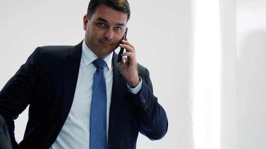 Senador Flávio Bolsonaro - ADRIANO MACHADO