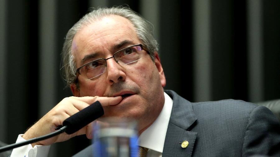 """Alguns parlamentares ainda atribuíram a Eduardo Cunha a responsabilidade pelo """"caos"""" vivido hoje no Brasil - Wilson Dias/Agência Brasil"""