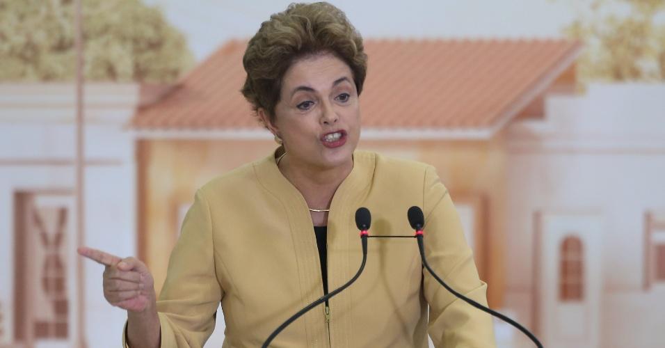 29.abr.2016 - A presidente Dilma Rousseff chamou de