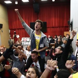 Em junho, estudantes fizeram pressão pela abertura da CPI da Máfia da Merenda
