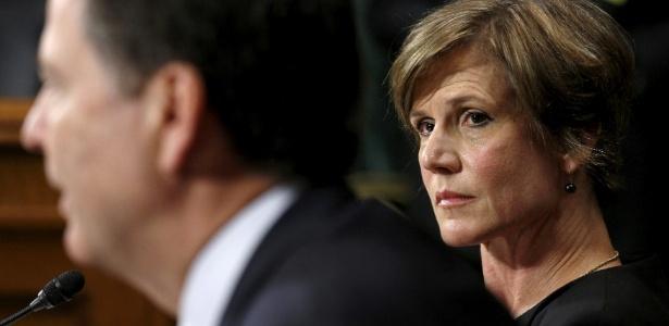 Procuradora-geral interina dos Estados Unidos, Sally Yates, demitida por Trump - Kevin Lamarque/Reuters