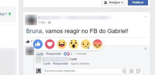 Facebook agora deixa você reagir a comentários de outros usuários