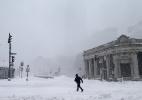 Onda de frio deixa temperaturas nos EUA tão baixas quanto as de Marte - Maddie Meyer/Getty Images/AFP