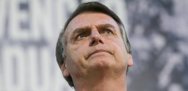 5.ago.2018 - O candidato do PSL à Presidência da República, Jair Bolsonaro