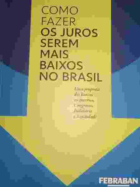 Capa do livro lançado pela Febraban - Divulgação