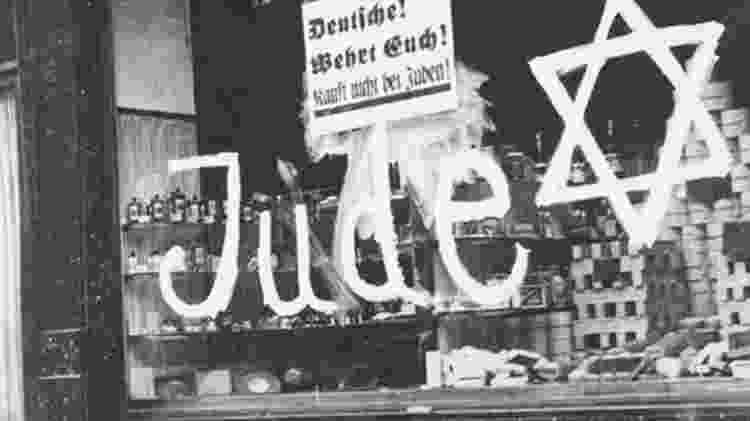 'Protejam-se, não comprem de judeus': além de perseguir judeus, Holocausto também levou à morte de ciganos e homossexuais - Museu Yad Vashem/BBC - Museu Yad Vashem/BBC