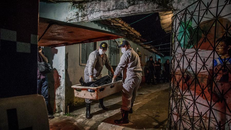 Jovem foi morto dentro de casa na Grande Belém, no Pará - Bruno Santos/Folhapress