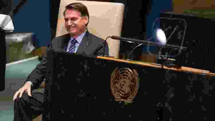 bolsonaro na ONU 1 - William Volcov/Brazil Photo Press/Folhapress - William Volcov/Brazil Photo Press/Folhapress