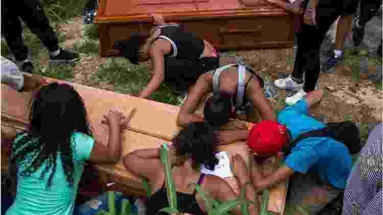 Milhares de pessoas morrem a cada ano na Venezuela em incidentes registrados como casos de 'resistência às autoridades' - Getty Images/BBC