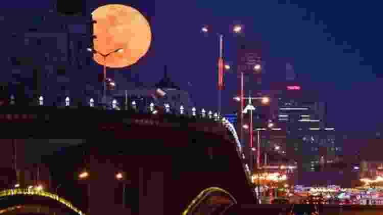 A superlua poderá ser vista de março a maio, durante as fases da lua cheia - Getty Images