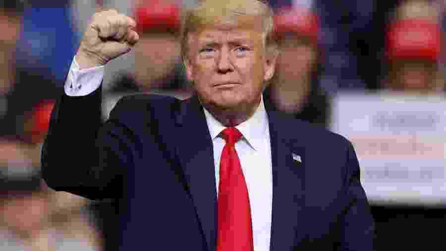 Presidente dos EUA, Donald Trump - JONATHAN ERNST