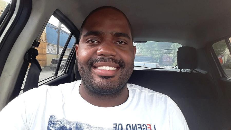 Leandro Barroso Lima, 27, motorista de Uber que salvou casal em crise - Arquivo pessoal