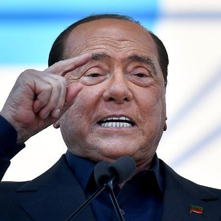 Arquivo - Berlusconi está internado em um hospital de Milão desde 6 de abril, dois dias antes da data anterior da audiência - Tiziana Fabi/AFP
