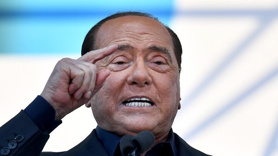 O ex-premiê da Itália Silvio Berlusconi - Tiziana Fabi/AFP