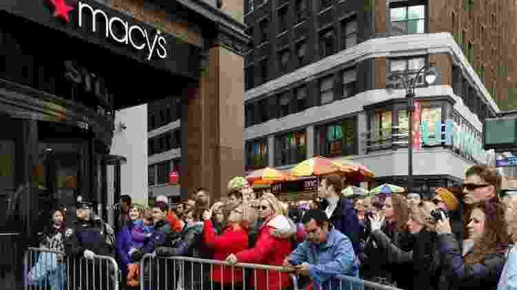 Loja de departamentos Macy's se inspirou na canadense Eaton's e passou a patrocinar desfiles e eventos natalinos para incentivar as compras - AFP - AFP