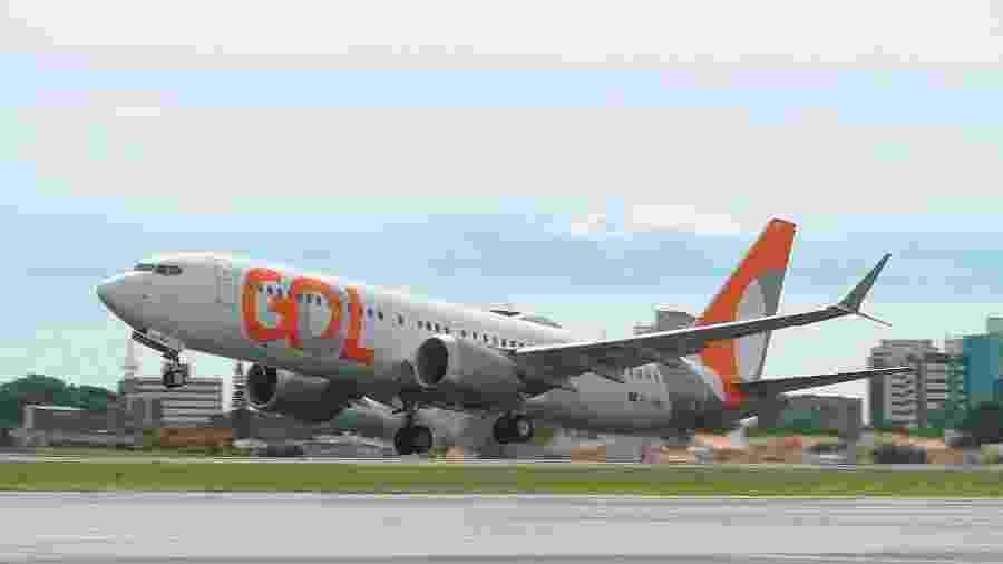 Boeing 737 Max 8 da Gol - Divulgação