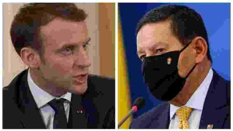 Mourão rebateu declaração de Macron sobre desmatamento na Amazônia e produção de soja no BrasilReuters - Reuters