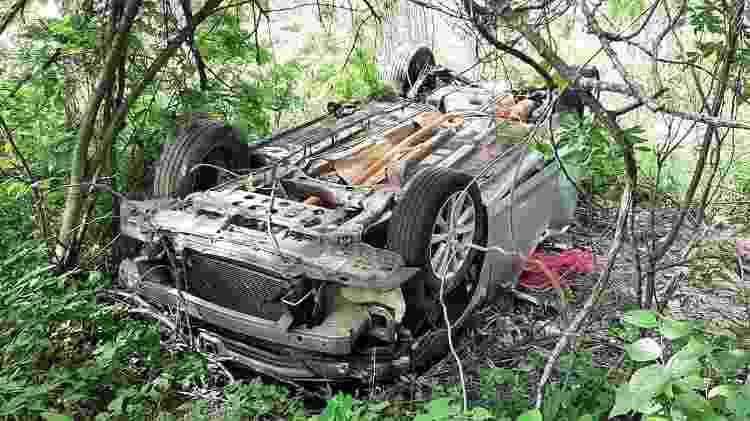 Carro de família dada como desaparecida é encontrado na Bahia - Divulgação/RPF - Divulgação/RPF
