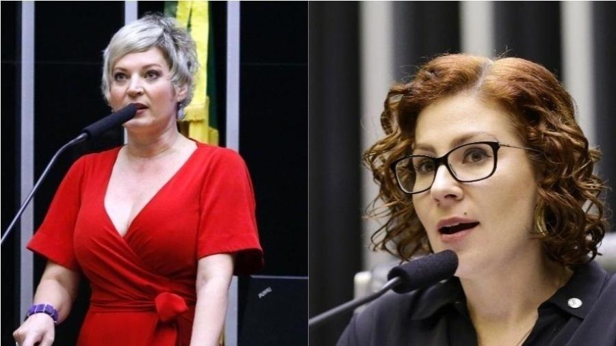 As deputadas federais Joice Hasselmann e Carla Zambelli - Maryanna Oliveira e Michel Jesus/Câmara dos Deputados