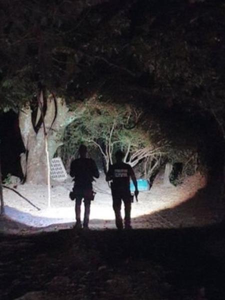 Polícia Civil de Goiás realiza buscas por Lázaro Barbosa - Divulgação/Polícia Civil-GO