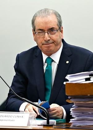 O presidente afastado da Câmara, Eduardo Cunha (PMDB-RJ) - Pedro Ladeira -19.mai.2016/Folhapress