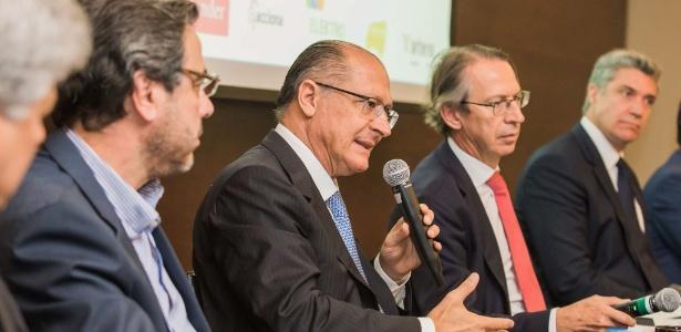 Evento de Alckmin com empresários em um hotel da zona sul de SP foi fechado à imprensa