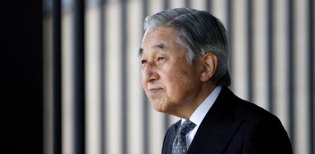 24.out.2011 - O imperador japonês Akihito no Palácio Imperial, em Tóquio
