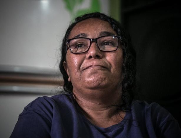 Maria Cláudia Nunes Caetano, 44, moradora de Guaianazes (zona leste de São Paulo) - Keiny Andrade/UOL