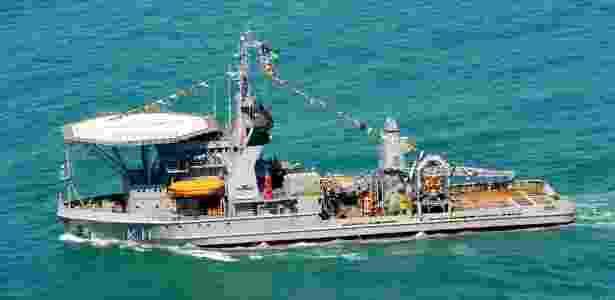 Navio de Socorro Submarino Felinto Perry, de uso da Marinha do Brasil - Marinha do Brasil/Divulgação