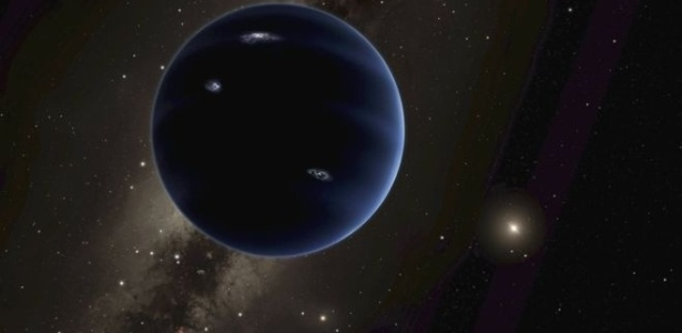 O 'Planeta Nove' é descrito como uma 'super Terra'