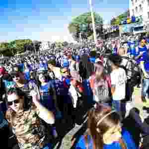 31.mai.2018 - Movimentação durante a 26ª edição da Marcha para Jesus em São Paulo (SP) - Newton Menezes/Futura Press/Estadão Conteúdo
